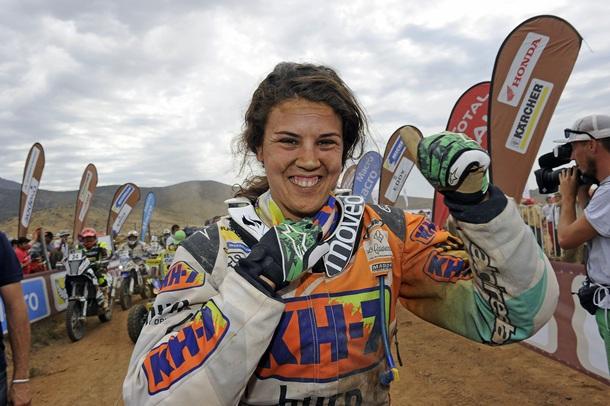 Laia Sanz Dakar Trial Enduro