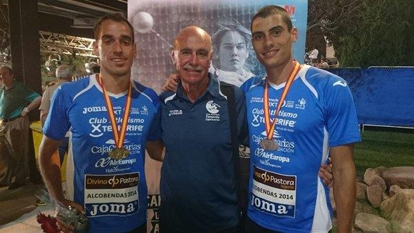 Pérez y Jordán, oro y plata en Decatlón.   DA