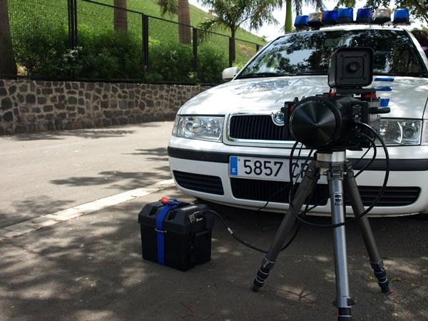 Radar de la Policía Local. | DA