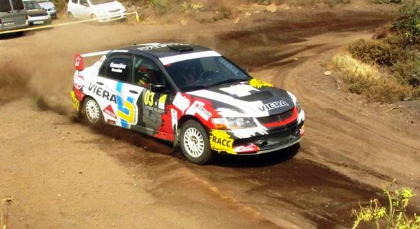 Rally de Tierra de Gran Canaria Marcos González