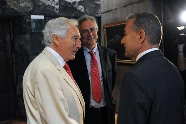 Luis Ramallo y Paulino Rivero. | EP