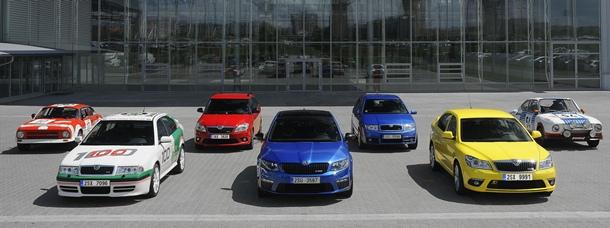 SKODA RS (Rally Sport)