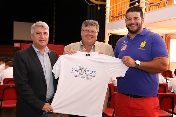V Campus Lucha Canaria CajaCanarias en Arafo