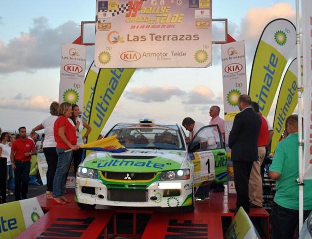 Vicente Bolaños y Magnolia Herrera (Mitsubishi Lancer Evo IX) 39 Rally Ciudad de Telde. | DA