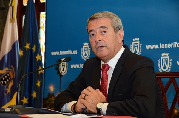 Aurelio Abreu, vicepresidente del Cabildo de Tenerife y consejero de Bienestar, Sanidad y Dependencia. / DA
