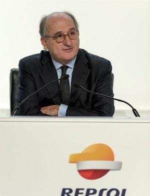 El presidente de Repsol, Antonio Brufau.   DA