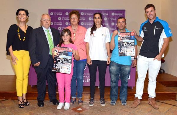 El evento está organizado por el Club BMX T-Riders, el OAD de La Laguna y la Federación Canaria de Ciclismo. / SM