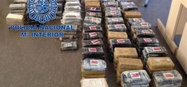 cocaína policia nacional