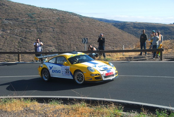 Enrique Cruz, a los mandos del Porsche 911 GT3 de Disa Copi Sport