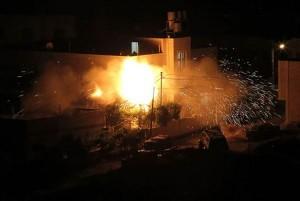 srael bombardea la franja de Gaza