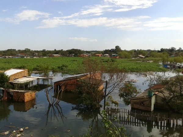 Las lluvias han anegado casas y cultivos por todo el país. | CEDIDA