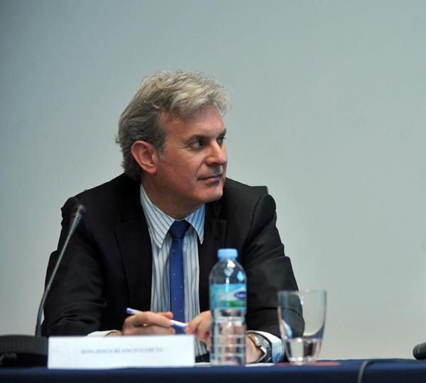 Jesús Blanco deja de ser el director-gerente de Emmasa. /  F. P.