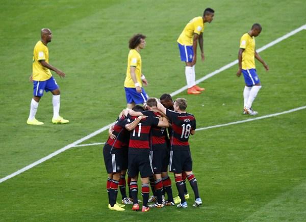 Brasil Alemania, Copa del Mundo