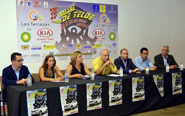 presentacion Rally Ciudad de Telde