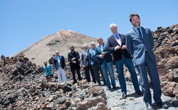 Foto de archivo de los presidentes de los cabildos.   DA