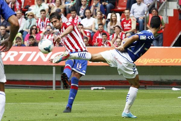 El cuadro asturiano se impuso aquel día por 3-0./ TUERO ARIAS