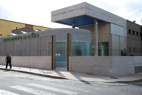 El Centro Municipal de Acogida es el único de este tipo que existe en la isla de Tenerife. / C. G.