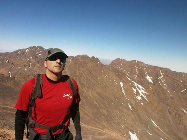 Amando Díaz Trujillo asegura que no es la primera vez que se enfrentará a una situación complicada en la montaña. | DA