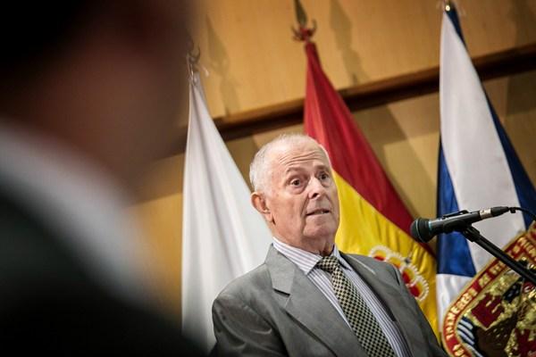 Antonio Hernández Marrero, durante la lectura del pregón. | A.G.