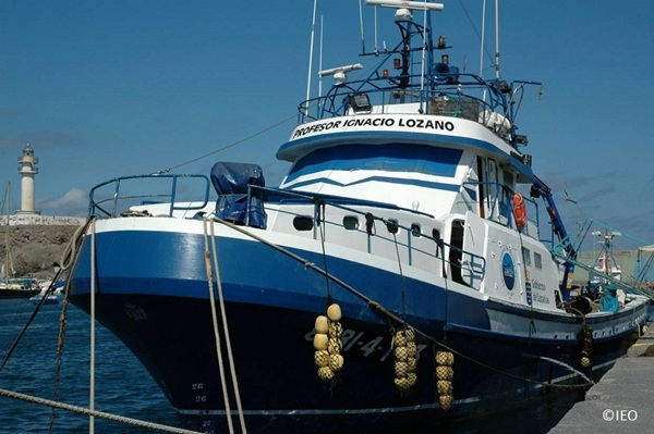 El buque oceanográfico Profesor Ignacio Lozano. / IEO