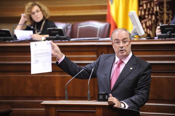 Fernando Figuereo, portavoz adjunto del Grupo Parlamentario Popular. | DA