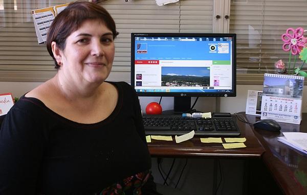 María Soledad Díaz subraya las ventajas que brindan los certificados digitales. / DA