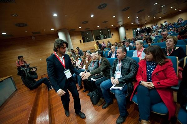 Gustavo Matos se ha postulado como candidato del PSOE a la presidencia del Gobierno canario. / FRAN PALLERO