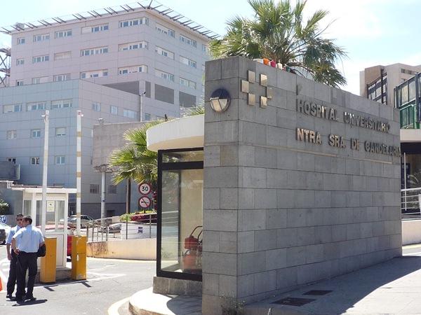 Fachada del Hospital de La Candelaria. / DA