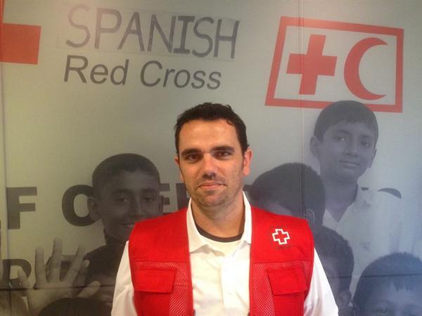 Delgado canario de Cruz Roja que combatirá el ébola en Sierra Leona