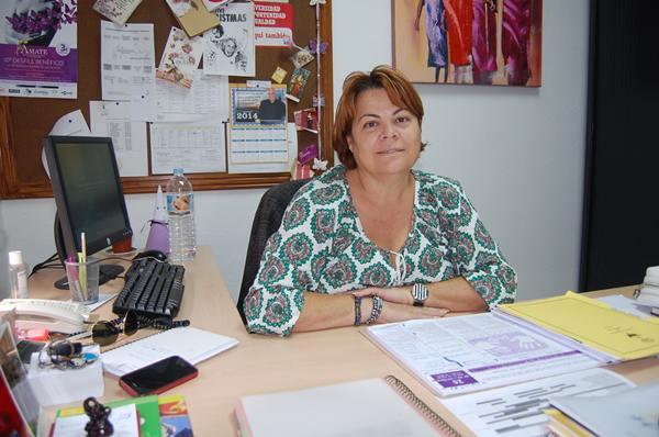 Loly García, concejal de Bienestar Social.   DA
