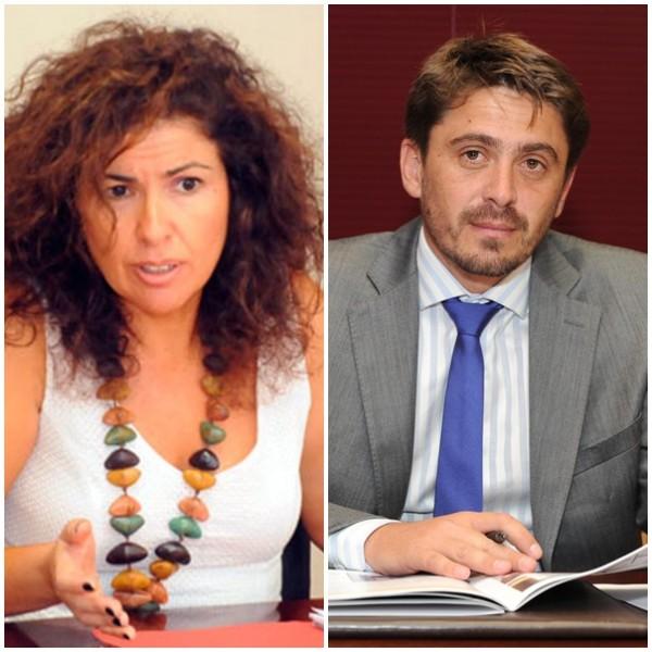 Gloria Gutiérrez y Jorge Marichal. | DA