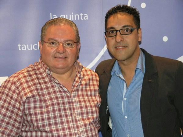 Montiel y Hernández piden la apertura del barranco. | DA