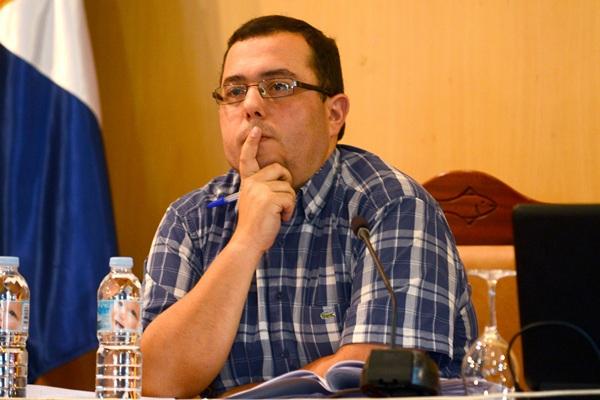 Octavio Fernández, secretario municipal de Candelaria. / DA