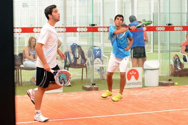 Óscar Rueda y Edu Alfonso vuelven a estar en una semifinal. / FRAN PALLERO