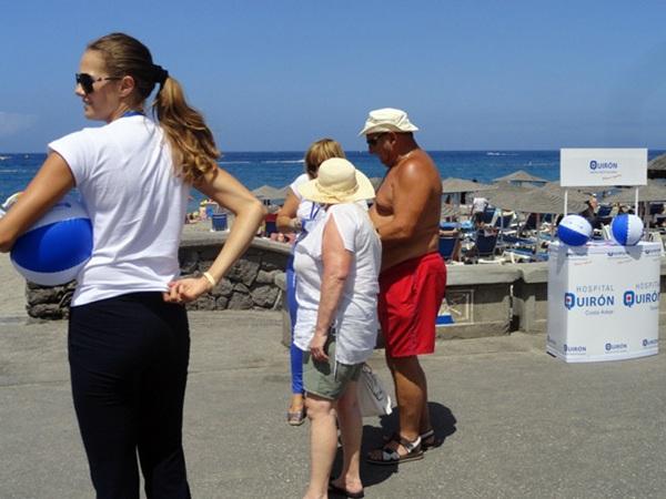Las playas del sur de Tenerife albergarán esta campaña hasta finales de agosto. / DA