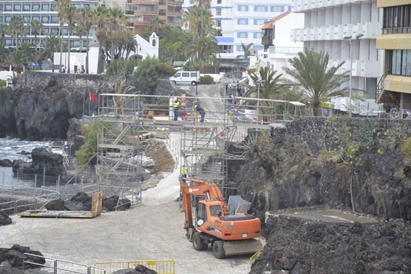 Maresía insiste en que el Paseo San Telmo, con una imagen cambiada por una pasarela, debe ser BIC.