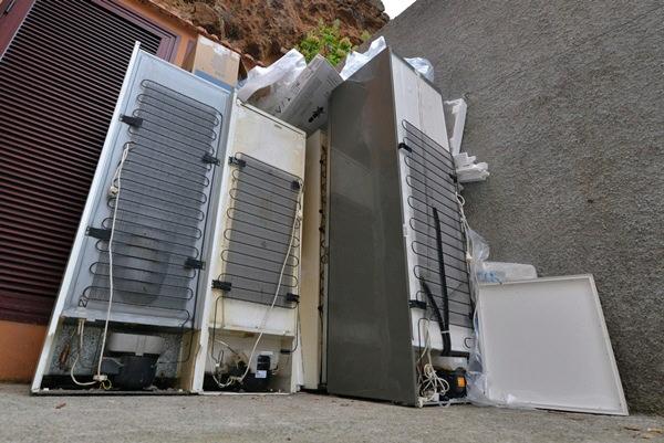 La empresa ha tratado ya desde que comenzó más de 10.000 toneladas de residuos electrónicos. / DA