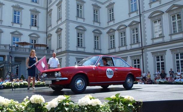 SEAT 124 Sport 1600 en el Schloss Bensberg Classics 2014 1