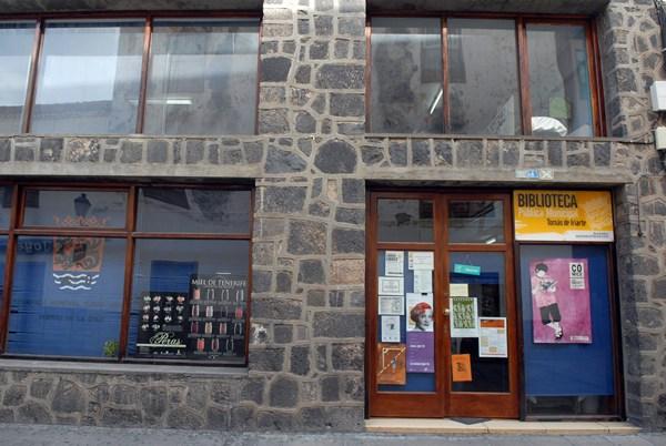 El inmueble de la calle Agustín de Bethencourt cerró sus puertas como biblioteca el 21 de abril. | MOISÉS PÉREZ