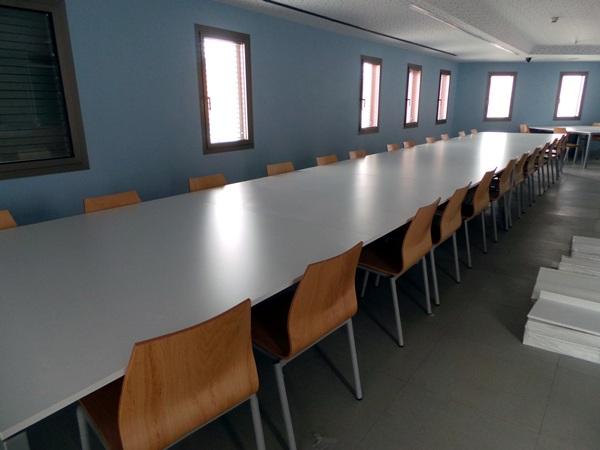 La nueva biblioteca se asienta sobre los antiguos juzgados de Puerto de la Cruz, en la calle Puerto Viejo./ M. P. P.