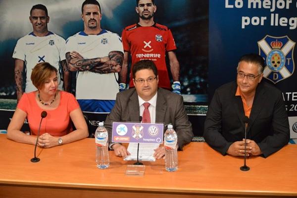 El acto de presentación tuvo lugar en la sala de prensa del Rodríguez López. / deporpress