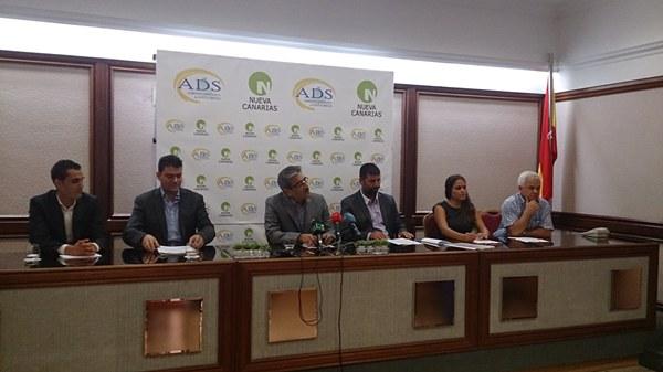 Damián González no estuvo presente en la firma del acuerdo entre ADS y NC por cuestiones laborales. | DA