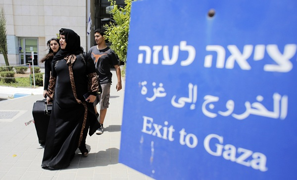 Imagen del paso fronterizo de Erez, al norte de la Franja de Gaza. / ammar awad (reuters)