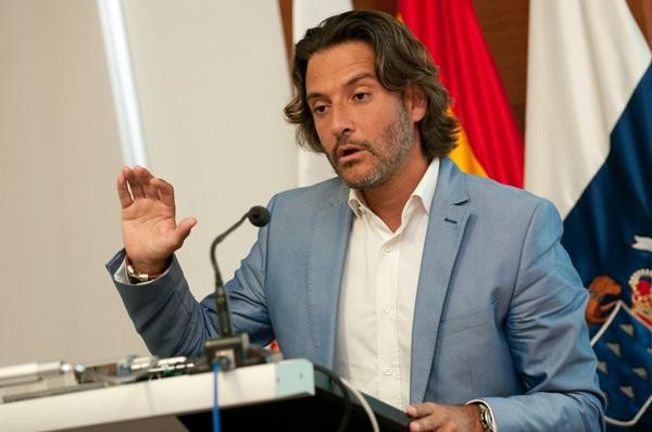 Gustavo Matos, secretario de Política Municipal del PSOE. / FRAN PALLERO