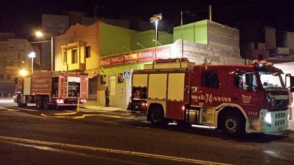 dos personas fallecen en un incendio en las delicias