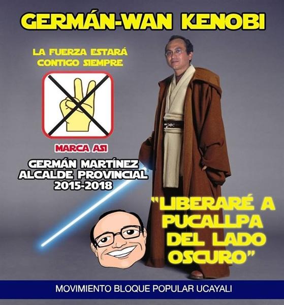 Así es la campaña de Germán Martínez. / EP