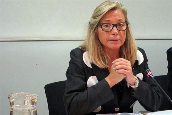 Joana Ortega (UDC), vicepresidenta de la Generalitat de Cataluña. / EP