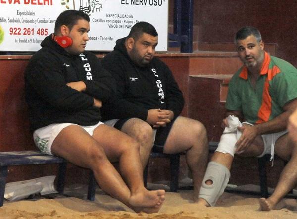 Lorenzo Rodríguez Lorencito y Elieser Gutiérrez apuntalaron la temporada pasada al Guamasa. / da