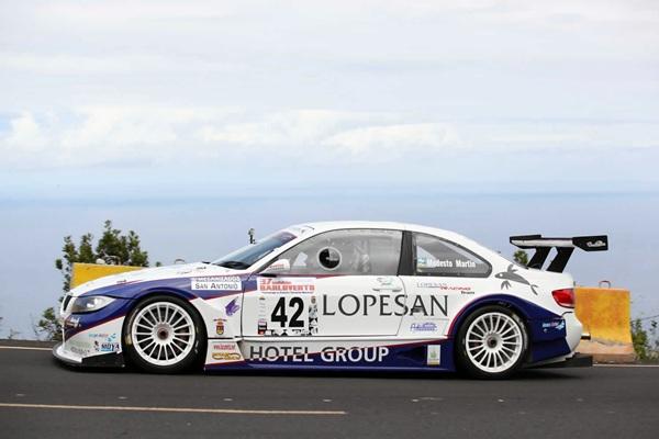 Modesto Martín está cada día más adaptado al BMW E90 Silueta. / DA