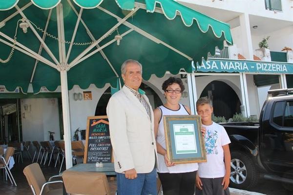 Casa María recibe el reconocimiento Tripadvisor. / EP